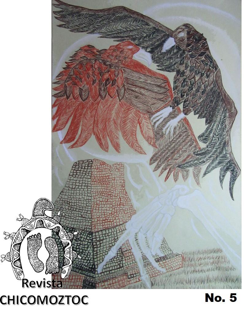 Autor de la Portada Alejandro Moreno, artista zacatecano independiente.